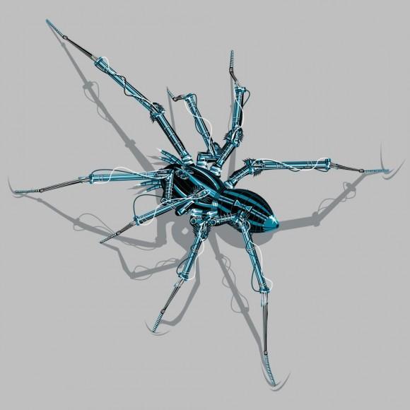 Spider Robot T-Shirt