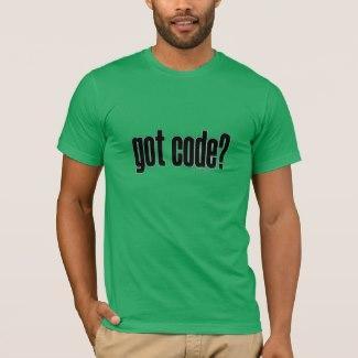 got code? T-Shirt