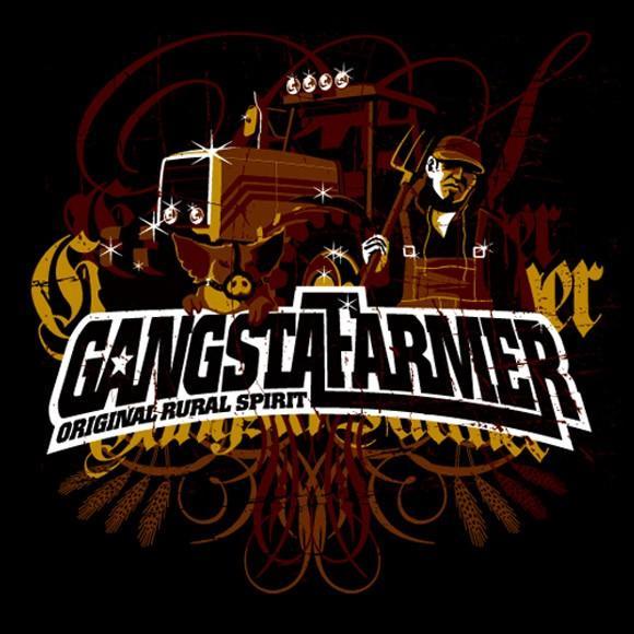 Gangsta  Farmer T-Shirt