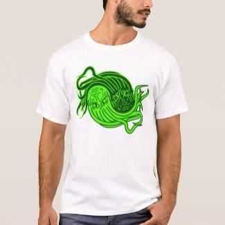 Cthulhu Yin-Yang T-Shirt