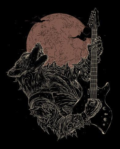 The Rock Werewolf T-Shirt