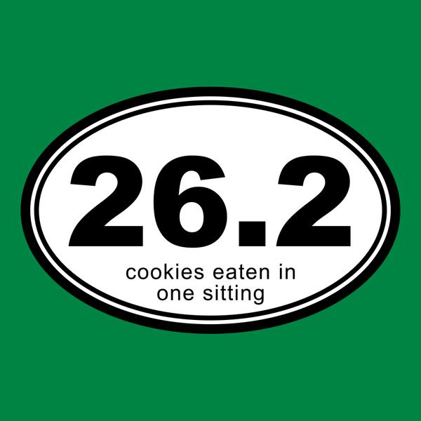 26.2 Cookies Eaten In One Sitting T-Shirt