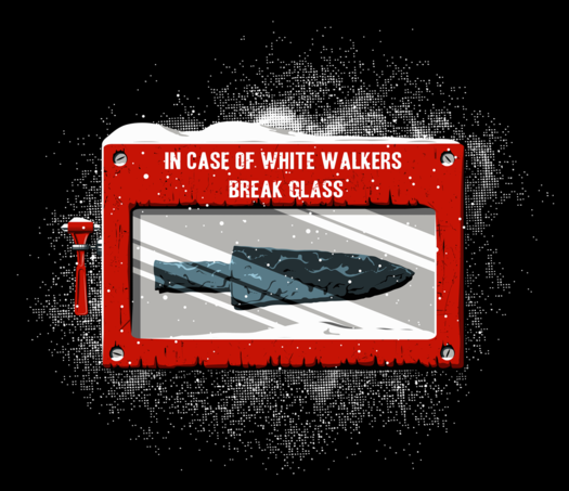 Break In Case of Walkers T-Shirt
