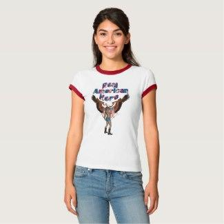 Real American (Female) Hero T-Shirt