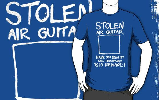 Stolen Air Guitar T-Shirt